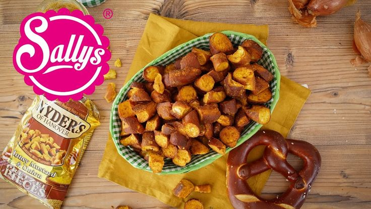 Snyders Pretzel / Brezel Snacks / Honey Mustard Onion/  nachgemacht: Original trifft Sally - YouTube