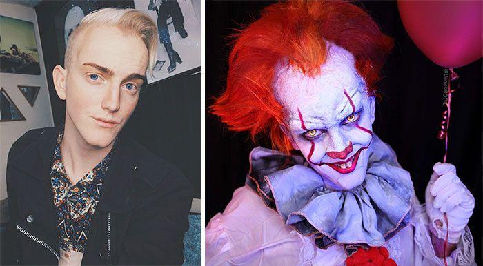 Make up artiest heeft zichzelf veranderd in bekende karakters - Wat een prachtige transformaties