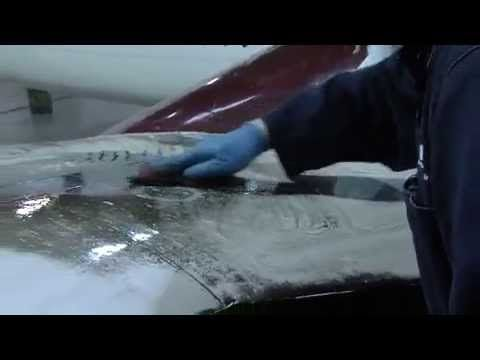 Washing an Aircraft with Oillift! Aviation Cleaning Products