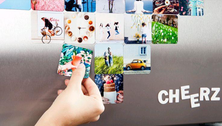 Code promo Cheerz : 5 euros de réduction sur votre première commande #bonplan #photo #cheerz