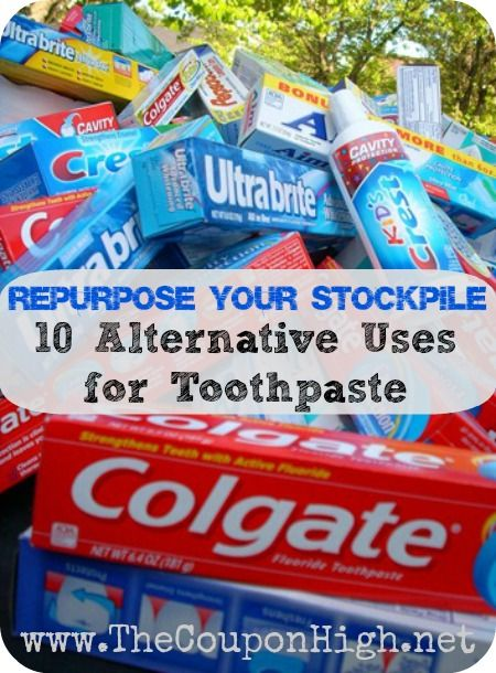 One you can get for free here are 10 alternative uses for toothpaste
