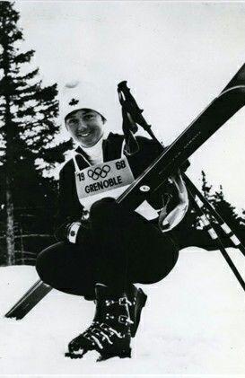 Nancy Greene - Canada - winner 1967, 1968