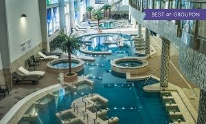 Groupon - $ 23 for Full Access, Including Indoor Water-Park Attractions, at King Spa & Sauna (Up to $45 Value) in Dallas. Groupon deal price: $23