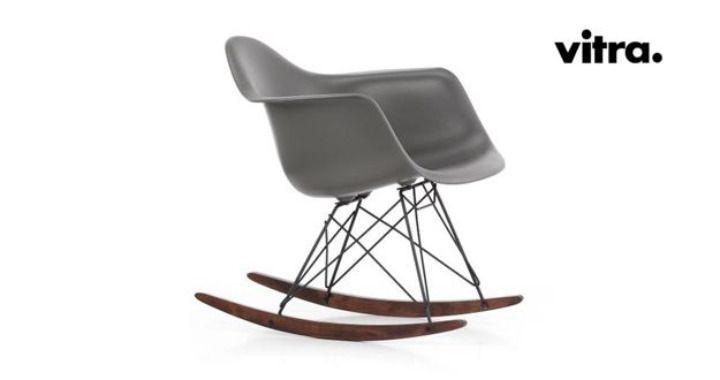 RAR, Vitra, sedia a dondolo, rocking chair, Eames