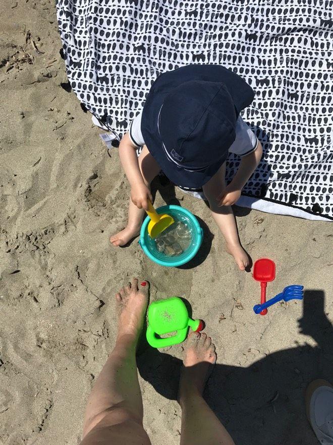 Einer meiner Geheimtipps für Familientage am Strand: Son Serra de Marina und die dortige Strandbar EL SOL!