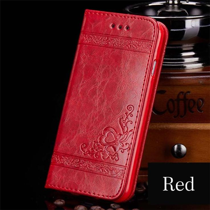 Leather Flip Phone Case For iPhone/Samsung