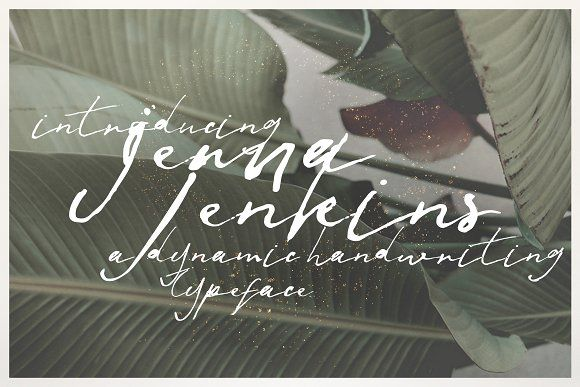 Jenna Jenkins by KlapauciusCo on @creativemarket