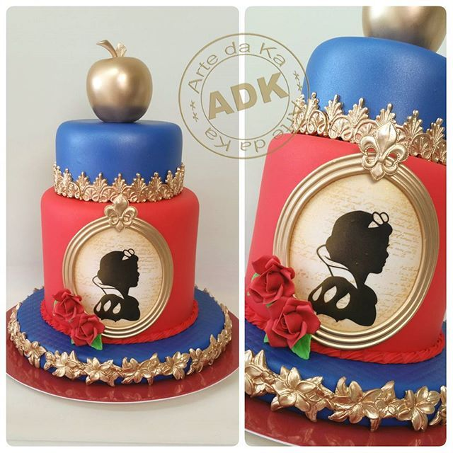 Images Of Snow White Cakes