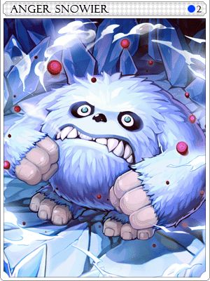 Furious Snowier Card