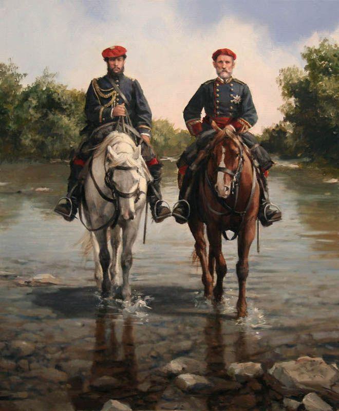 ULTIMOS CUADROS: 1ª División de Navarra 1874