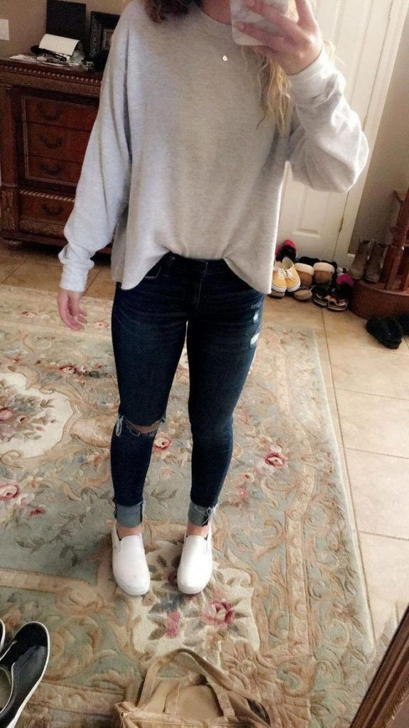 Cute outfits for spring for school jeans 18 – www.Mrsbroos.com