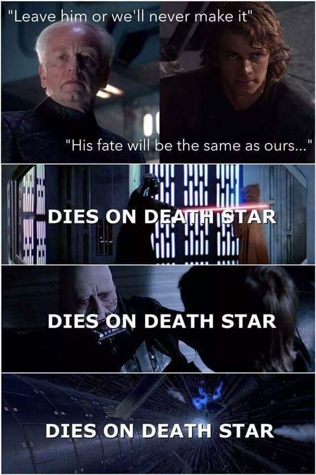 50 Hilarious Memes To Celebrate Star Wars Prequels Day Star Wars Quotes Star Wars Humor Funny Star Wars Memes
