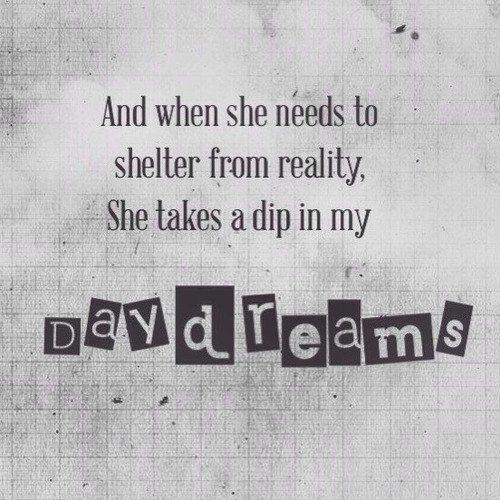 """""""Когда ей нужно укрытие от реальности, Она находит его в моих снах""""  Ну не то чтобы снах, но в чужой фантазии утонуть можно, как и в своей, только там все еще глубже и страшнее, потому что не всегда знаешь, во что падаешь"""