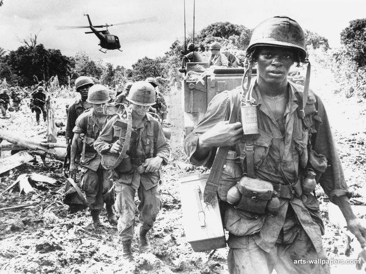 vietnam war photos | Vietnam War soldiers pic