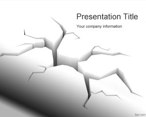 Earthquake PowerPoint template is a free PowerPoint Earthquake background presentation template for disaster presentations