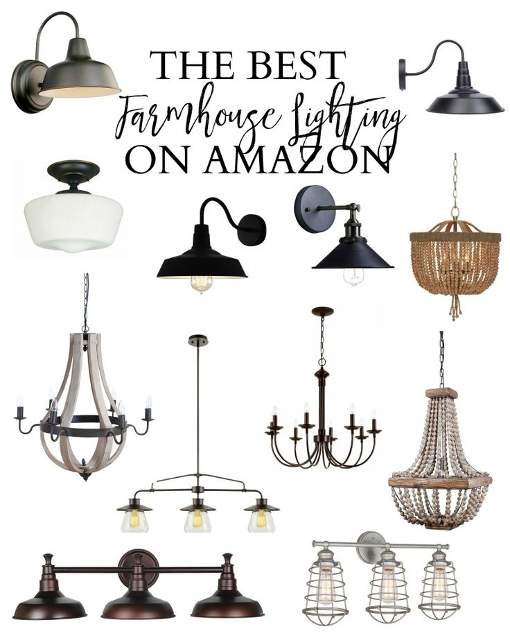 Home Best Farmhouse Lighting On Amazon