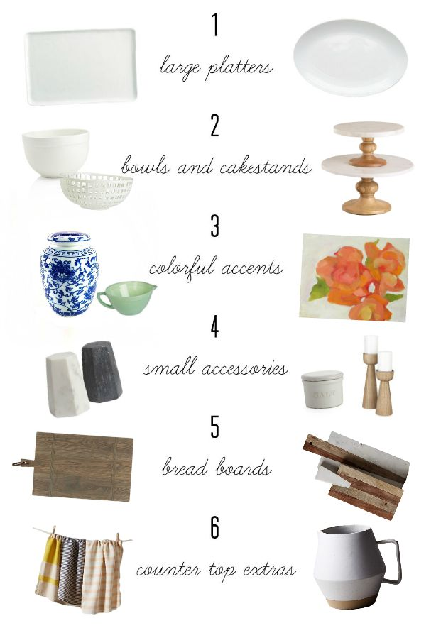 Little Green Notebook: Tips of the Trade: Kitchen Styling