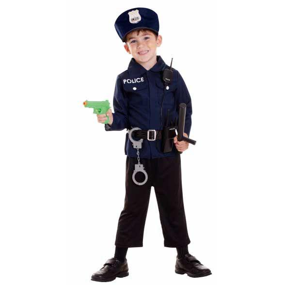 Set déguisement policier 3-5 ans - Annikids