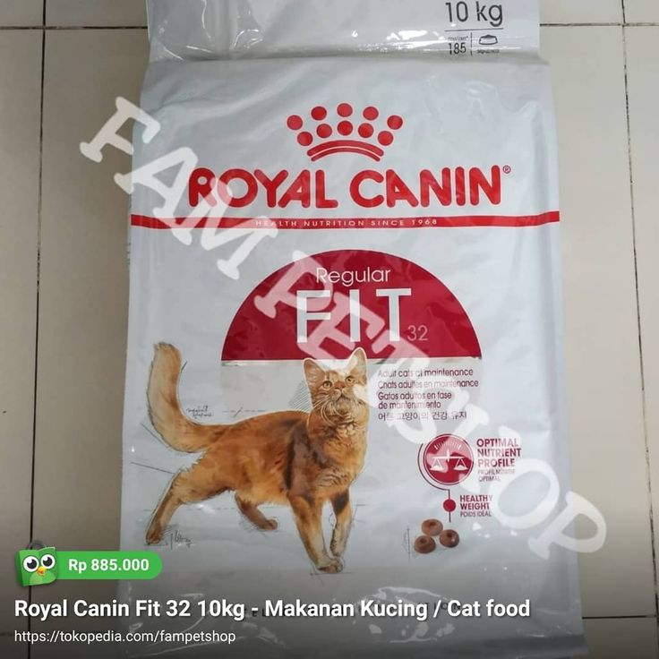 Royal Canin Fit 32 10kg Rc Royalcanin Fit32 Fit3210kg Jualrc Jualroyalcanin Makanankucing Makanananjing Catfood Dog Cat Food Healthy Weight Nutrient