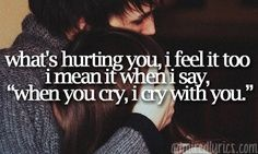 'Cry with You' by: Hunter Hayes❤️