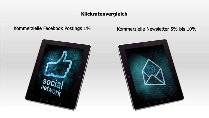 Newsletter vs. Social Media - das aktuelle Video (Stand August 2013) #Email #Newsletter #SocialMedia #Zahlen
