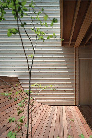 Mascara House - Shizuoka, Japan - 2011 - mA-style Architects #architecture #japan #house #wood