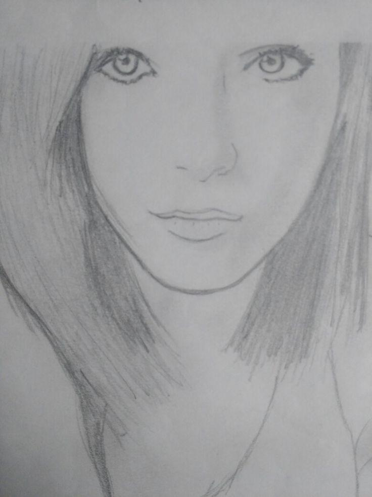 Retrato de una desconocida #Drawings #Sketch #portrait #retrato