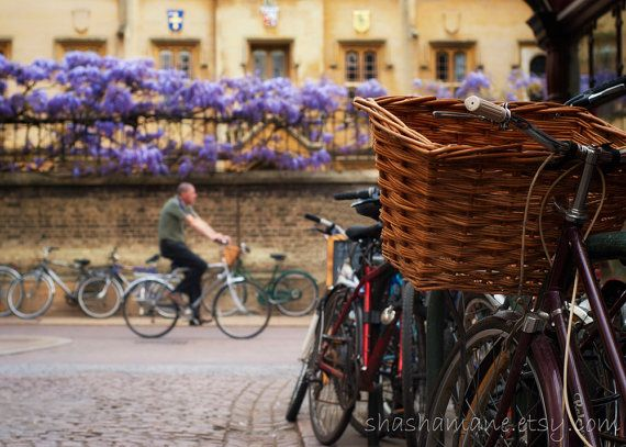 Cambridge, city of bicycles and beauty.