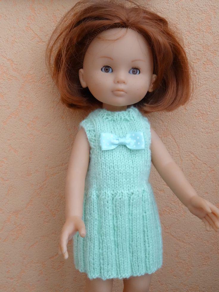 Fiche gratuite vêtements de poupée N° 163: robe à plis Chéries de Corolle - Le blog de La malle ô trésor de Sylvie