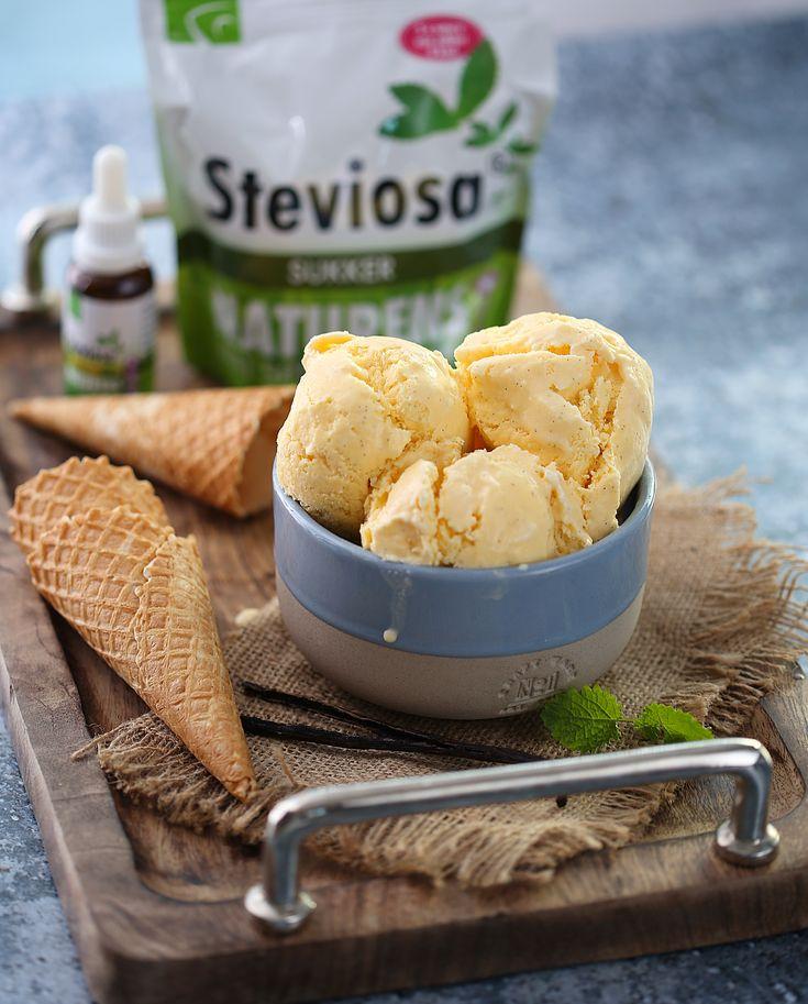 Hjemmelaget vaniljeis med 40% færre kalorier | Sunnere Livsstil