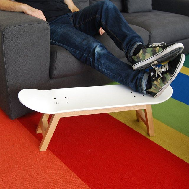 Incredible Skateboard Stool Foot Rest Nollie Flip For The Home In Machost Co Dining Chair Design Ideas Machostcouk
