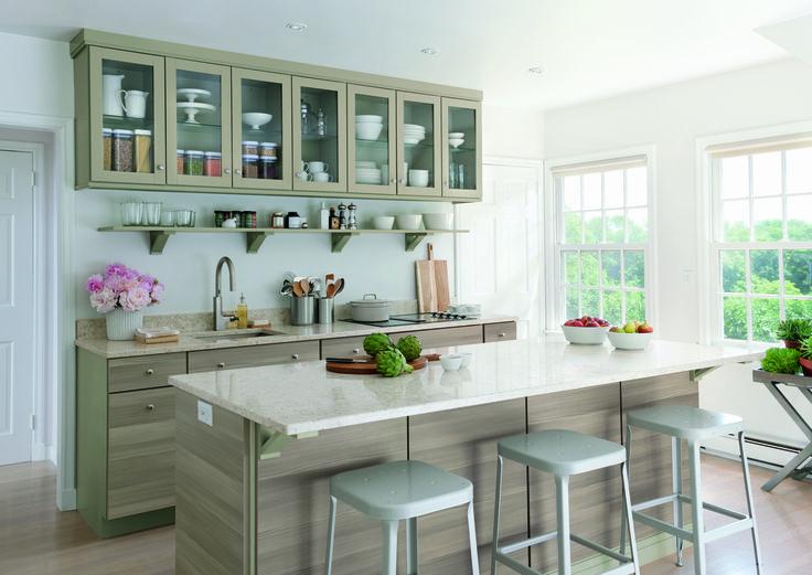Martha Stewart Kitchen Design Ideas Part - 22: Your Dream Kitchen From #MarthaStewartLiving Starts Here. Martha Stewart  KitchenWhite KitchensSmall ...