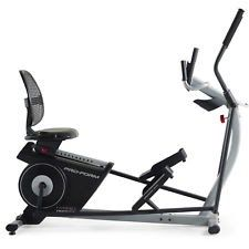 ProForm Hybrid Trainer Elliptical Recumbent Cardio Bike Exercise Machine Workout