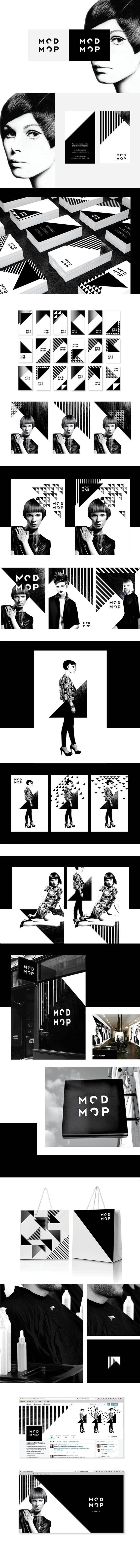 Modmop High-end Salon Branding by Alex Nereuta | Fivestar Branding Agency – Design and Branding Agency & Curated Inspiration Gallery