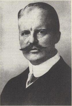 This is a picture of Arthur Zimmermann. He sent the telegram to the German official in New Mexico.