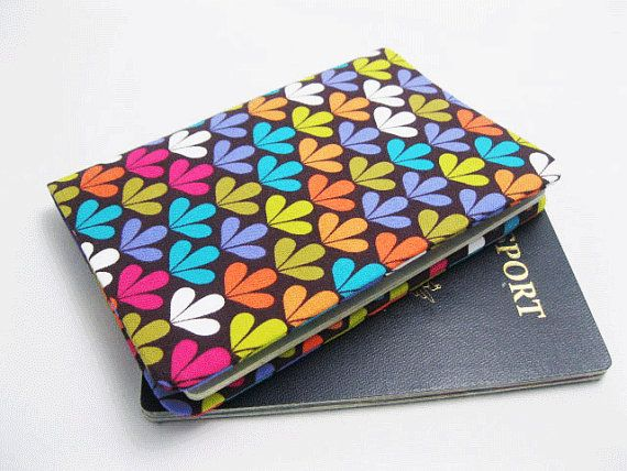 SALE & Ready to ship Fabric Passport Cover Passport by KapomCrafts, $6.99