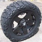 : Used black truck rims for sale