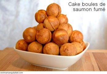 CAKE POPS DE SAUMON FUME CAKE POPS SALEES POUR L' APERITIF