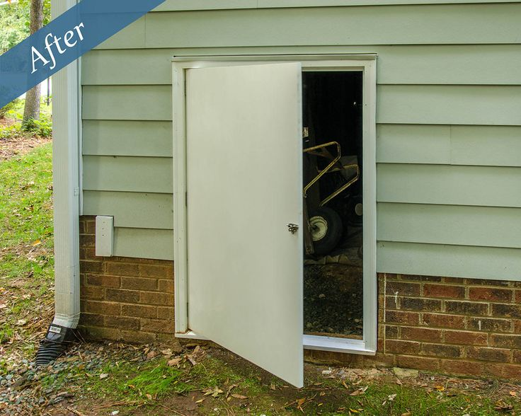 Luxury Crawl Space Entry Door