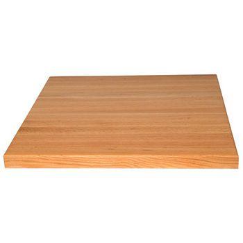 Table Tops Square Oak Butcher Block By John Boos Kitchensource Com