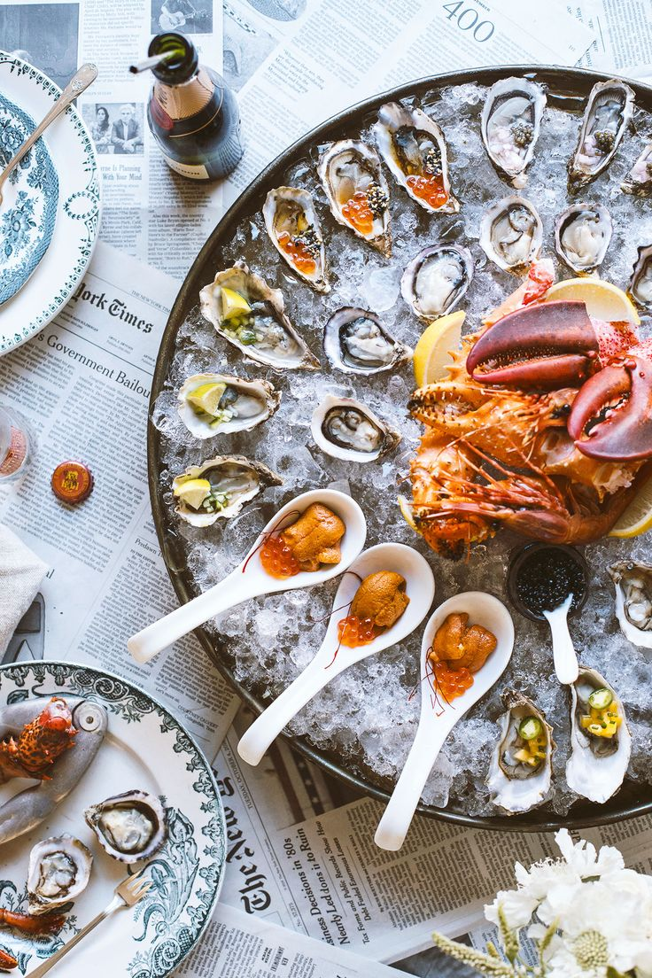 How To Throw A Raw Seafood Party | HonestlyYUM