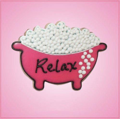 Pink Bathtub Cookie Cutter - Cheap Cookie Cutters