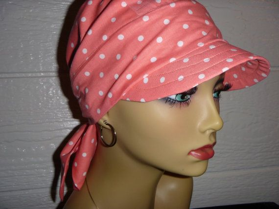 Chemo Cap,Chemo Hat,Womens Sun Hat,Hair Loss Hat,Headwrap,Sun Visor,Hat, Cancer Headwear, Alopecia,Scarf Hat,Scarf Visor, Beach Visor,Visor on Etsy, $20.00