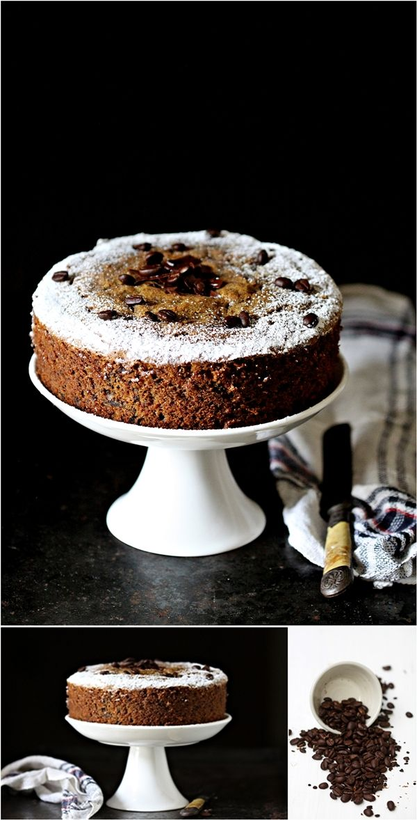 Chocolate pound cake with whole wheat flour