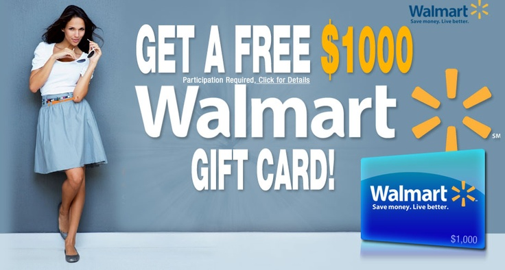 Click to get your Walmart $1000 gift card : http://trkur.com/tk?o=13049&p=118477