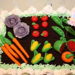 Garden Cake Tutorial