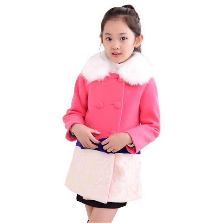 ==> [Free Shipping] Buy Best New 2016 Autumn Long Girls Jackets Double Breasted Sash Children Girl Trench Coat Fashion Children's Outerwear Clothing KX103 Online with LOWEST Price | 32766017926