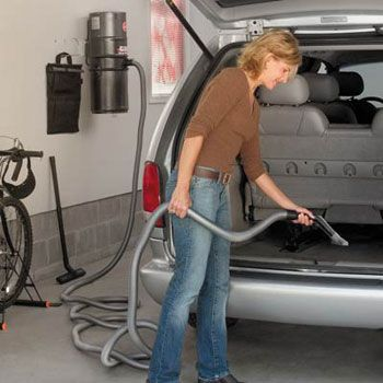Garage Storage and Organization | Garage Vacuum Systems