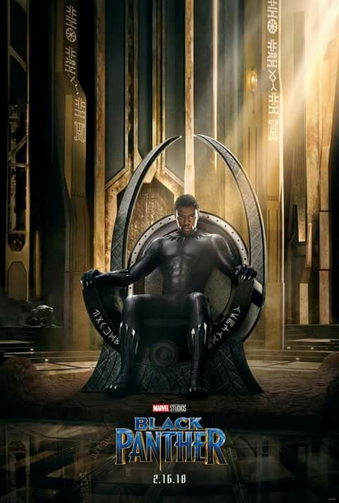 Black Panther poster! And trailer soon *-*