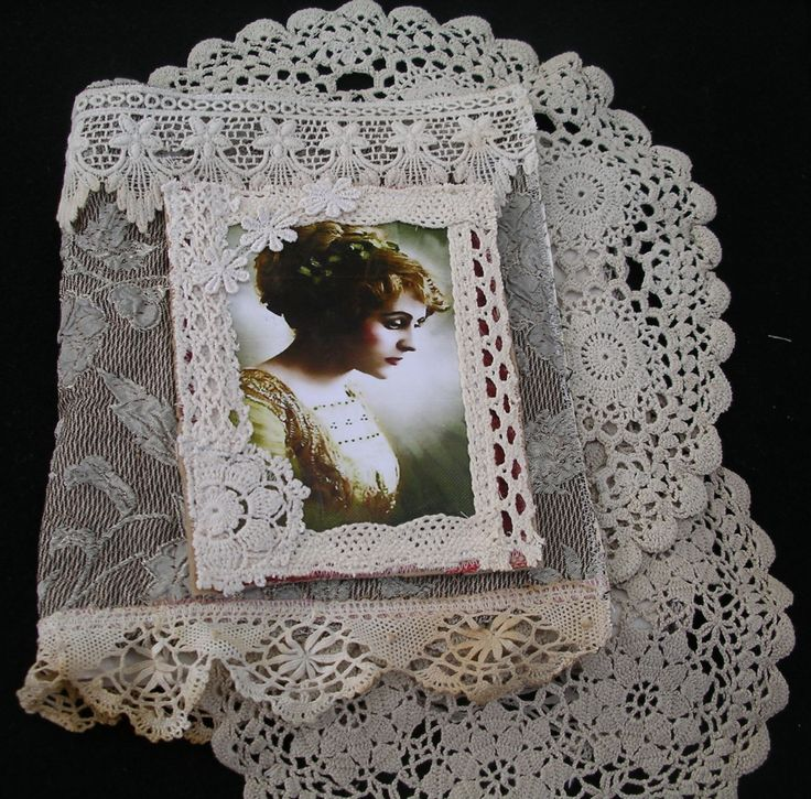 Vintage style Fabric Book/Needle Book kit by JudysFabricWorks